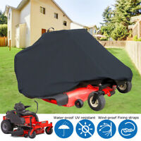 """Zero Turn Lawn Mower Cover Polyester Fabric Waterproof Protactor 81""""x44""""x47.5""""US"""