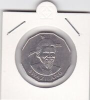 50 cents Swaziland 1981 König Sobhuza II
