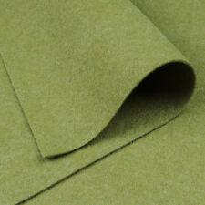 Woolfelt Pale Sage ~ 22cm x 90cm / quilting muted green Christmas felt fabric