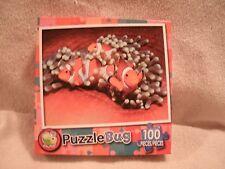 New 100 Piece Three Clownfish Puzzle