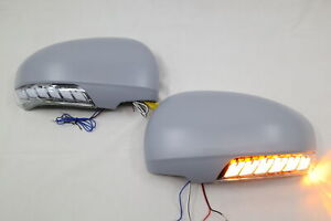 LED mirror cover sequential turn signal light-unpainted for TOYOTA VENZA~2009-12