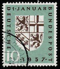 Scott # 754 - 1957 - ' Arms of Saar '