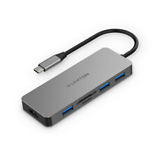 LENTION USB-C Hub Multiport to 4K HDMI Adapter SD Card Reader For MacBook Pro