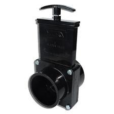 """Valterra 3"""" Dump valve RV Drain Sewer Waste Valve Assembly 3"""" Hub 3"""" Spigot"""
