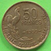 FRANCE 50 FRANCS GUIRAUD 1950  F.425