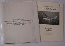 Cessna 208, 208A, 208B FAA Approved Inspection Program/ Caravan I Specs Brochure