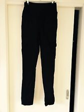 Size 8 Ninth Moon black maternity cargo pants. Great Condition.