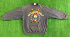 Rare Vtg Ahiru No Pekkle Sweater Size XL Pirple Made In USA Duck World Champion