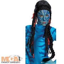 Avatar Neytiri Long Perruque Déguisement Film Costume Femme Perruque Accessoire-Deluxe