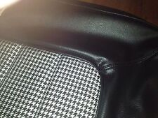 Hq Monaro Gts Coupe Seat Covers Full Set In Black Long Grain+Houndstooth Inserts