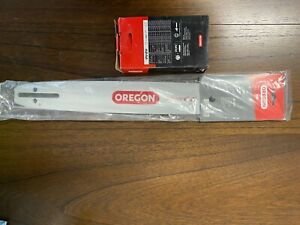 "Oregon 15"" chainsaw bar and chain"