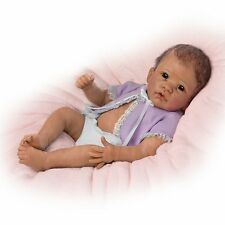 Ashton Drake Baby Girl Doll - LITTLE MIA by Linda Murray