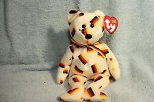 """TY beanie """"Deutschland bear""""!  pics ! buy more,save more!"""