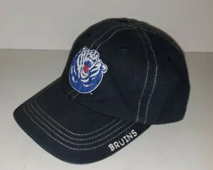 BELMONT BRUINS navy Blue Vintage Look Adjustable Cap Hat Youth Size