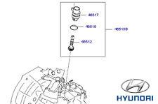 Genuine Hyundai Santa Fe Speedo Speed Sensor - 4651039700