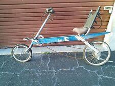 Bike-E Recumbent Bicycle Well Designed Sturdy Comfortable Popular Good Shape