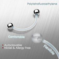 Markenlose Piercing-Schmuck aus Bioplast/Bioflex