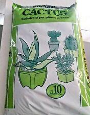 terriccio per piante grasse ammendante verde cactus succulente crassule 10 litri