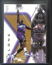 2001-02 Upper Deck SPx Spectrum Gold #85 Karl Malone No 2 of 25