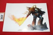 Games Workshop WH40K Roboute Guilliman Primarch of the Ultramarines Art Card New
