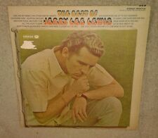 The Best Of Jerry Lee Lewis, VINYL LP 1970, VG play-tested, Smash Records