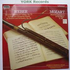 TV 334039 - WEBER / MOZART - Bassoon Concertos ZUCKERMAN - Ex Con LP Record