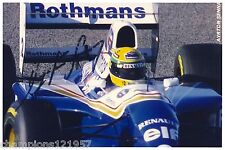 Ayrton Senna ++Autogramm++ ++FORMEL 1 Weltmeister 1988/90/91++
