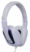 SoundLAB Stylish Comfortable Stereo Hi-Fi Headphones in Black and White #A084BB