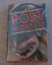 Postmortem by Patricia Cornwell, First Edition, Inscribed by Author