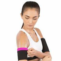 2pk Arm Trimmer Sauna Neoprene Gym Exercise Compression Slimmer Band Fat Burning