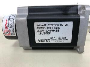 VEXTA 2-Phase Stepping Motor PK268-03B-C25 w. Quantum devices encoder