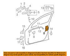 TOYOTA OEM Front Door-Lock Actuator Motor 6903042230