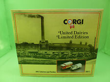 CORGI TOYS D67/1 CABOVER TANKER TRUCK LIMITED EDITION NO. 7091 - IN BOX -