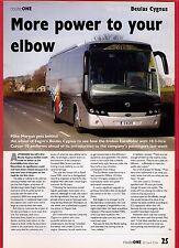 Bus Magazine Extract ~ Beulas Cygnus - Irisbus: Eagre Coaches Gainsborough: 2006