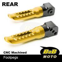 For Honda Grom MSX 125 13 14 15 16 17 18 GOLD BoB CNC Passenger Rear Foot pegs