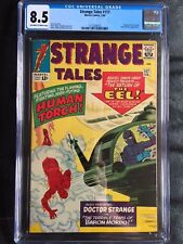 STRANGE TALES #117 CGC VF+ 8.5; OW-W; Ditko art; Kirby cover!