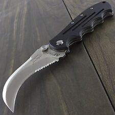 "8.25"" HAWKBILL M-TECH USA FOLDING POCKET KNIFE Fishing Skinning Combat Claw"