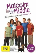 MALCOLM IN THE MIDDLE - THE COMPLETE SERIES (22 DVD SET) BRAND NEW!!! SEALED!!!