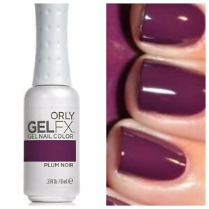ORLY-Gel FX-ORLY-Color:  Plum Noir