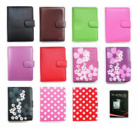 Wallet Case Cover Pouch for Kobo Glo & Screen Protector