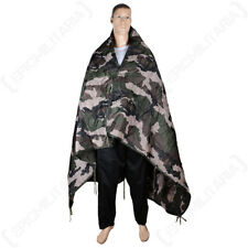 Military US War Camouflage Packaway Poncho Liner Ground Matt - CCE