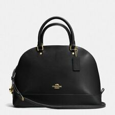 Coach Leather Large Sierra Satchel Hand Bag Black Fall 2017 F57524