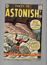 Tales to Astonish 36 3rd app Ant Man Comrade X Hands o Time Search for Pan Kirby