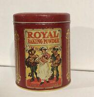 Vintage Bristolware Nabisco Royal Baking Powder Tin Can Container