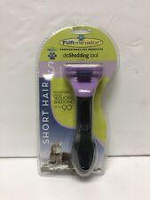 New listing Furminator DeShedding Tool - Short Hair - Up To 10 Lbs - S