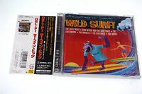 WILD SURF!/VARIOUS ARTISTS TECW-23248 CD JAPAN OBI A5988