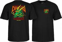 Powell Peralta Steve Caballero GREEN DRAGON AND BATS T Shirt BLACK XL