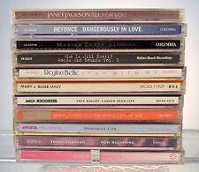 10 CD MUSIC LOT JANET JACKSON-BEYONCE-MARIAH CAREY-JILL SCOTT-REGINA BELLE