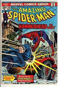 Amazing Spider-Man #130 VG+ Marvel (1974) -Debut Of Spider-Mobile