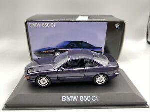 1/43 Minichamps Dealer Exclusive BMW 850 Ci Purple # 80420029562 LOOK CLOSER